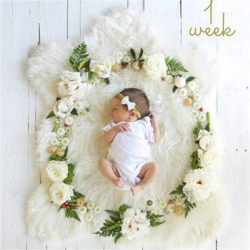Artificial Flowers Photo Booth Props Babyshower Decoration For A Girl Boy Diy 1st Birthday Party Decorations Kids Party Favors Photobooth Props Aliexpress