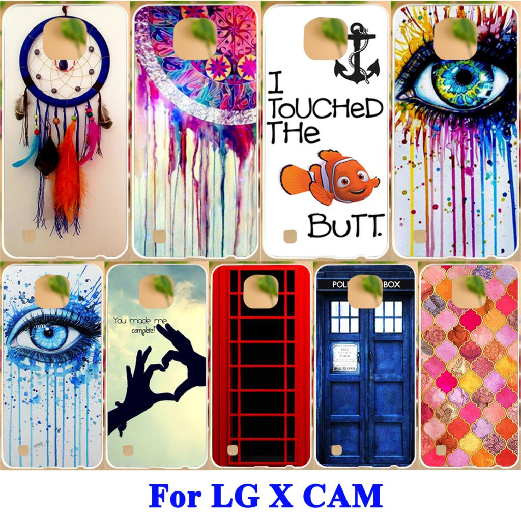 AKABEILA Phone Covers Suitable For LG X Cam F690 K580 K580Y K580 K580DS Cases Hard Cover Soft TPU Case Painted Dream Catcher