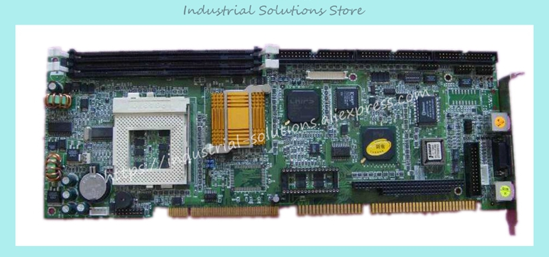 LMB-370ZX Full Length Card Industrial Motherboard LCD 100% tested perfect quality portwell robo 8712evg2a industrial motherboard dual network length of two usb p4 card