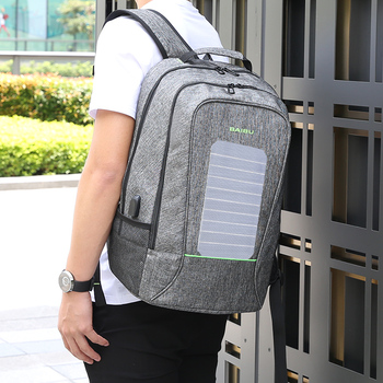 Solar Backpack USB Charger  3