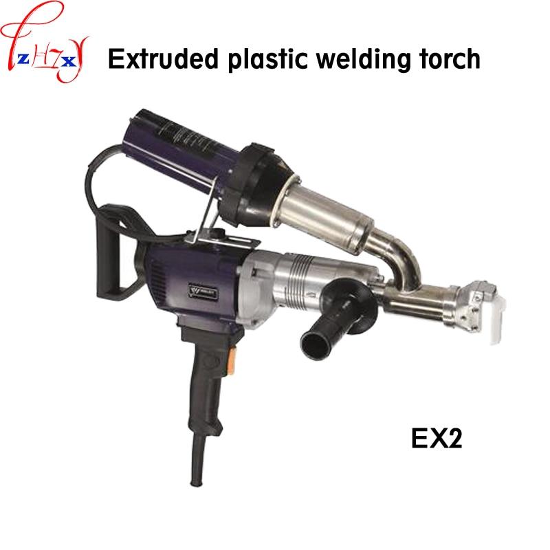 1 pz Estruso di plastica pistola di saldatura EX2/EX3 tenuto in mano di plastica estrusore pistola elettrica torcia di saldatura 220 v 3000 w