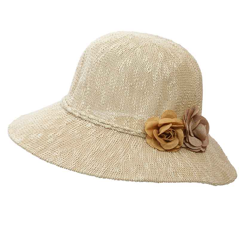 Classical floppy hat are an effective accessory to make you look great on  summer beach d28af22a9ae