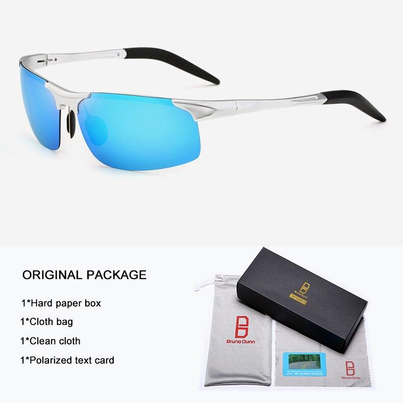 Bruno Dunn Driving polarized Men sunglasses 2020 sports High Quality UV400 Aluminum sun glasses for male oculos de sol masculino 10