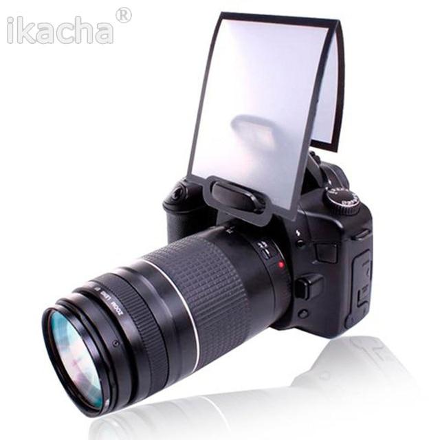 Frete Grátis Universal Macia Tela Pop-Up Flash Difusor Para Nikon Canon Pentax Olympus Sigma Camera