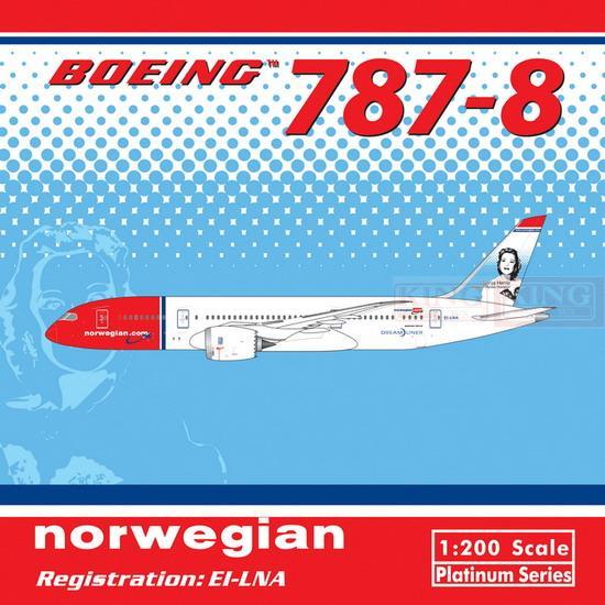 Phoenix 20097 Norway EI-LNA Airlines 1:200 B787-8 commercial jetliners plane model hobby  phoenix 11093 ruian airlines ei fei 1 400 b737 800 w commercial jetliners plane model hobby