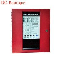 (1 комплект) Панели управления пожарной сигнализации 8 Провода зон Главная охранной сигнализации самозащиты обороны Поддержка детектор дым