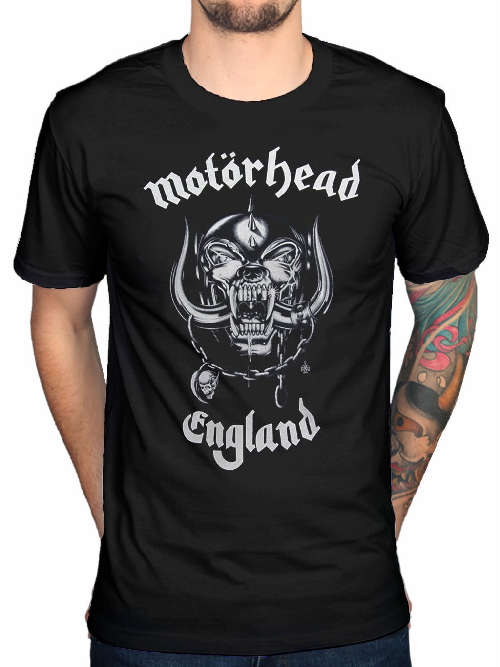 Design t shirt price - Men S Fashion Motorhead Everything Lauter England T Shirt Lemmy Design Tops Customize Printed Short Sleeve Tees