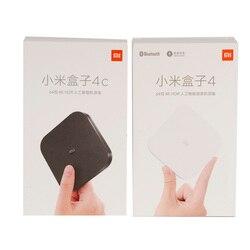 Original XIAOMI Mi Box 4/4C Android TV BOX 6.0 Amlogic Cortex-A53 Quad Core 64bit 1GB/8GB 4K HDR TV Box DTS-HD 2.4G WiFi HDMI