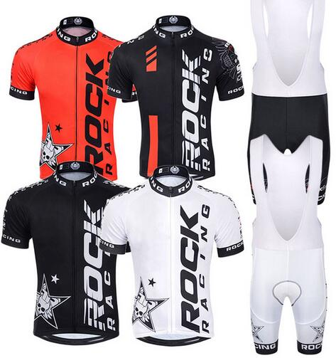 Pro Summer Rock racing Cycling Jersey Set Mountain Bike Clothing MTB  Bicycle Clothes Wear Maillot Ropa Ciclismo Men Cycling Set a9a13d31b