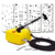 0.2mm 2CC Sistema de Arte Del Clavo Del Aerógrafo Mini Compresor De Aire Kit & Nail Art Airbrush Stencil Set 100-240 V