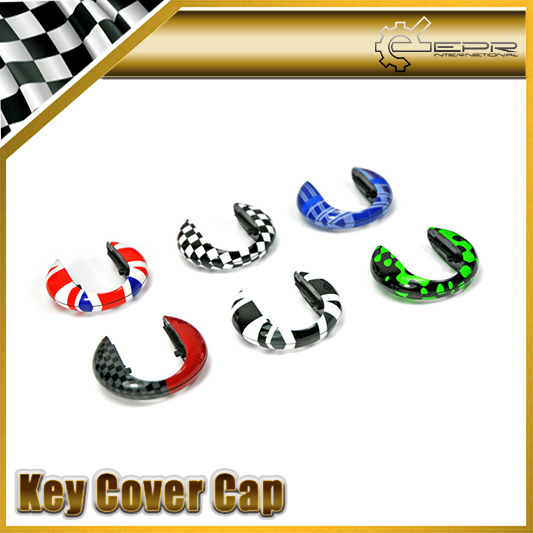 Car-styling New Arrival For Mini Cooper F55 F56 Key Cover Cap Keychain Keyring