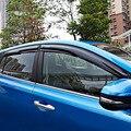 Acessórios Porta Lateral Toldos Da Janela Viseira Ventilação Sol Protetor da Guarda Chuva Delflector Fit Para Toyota RAV4 RAV 4 2013 2014 2015 2016