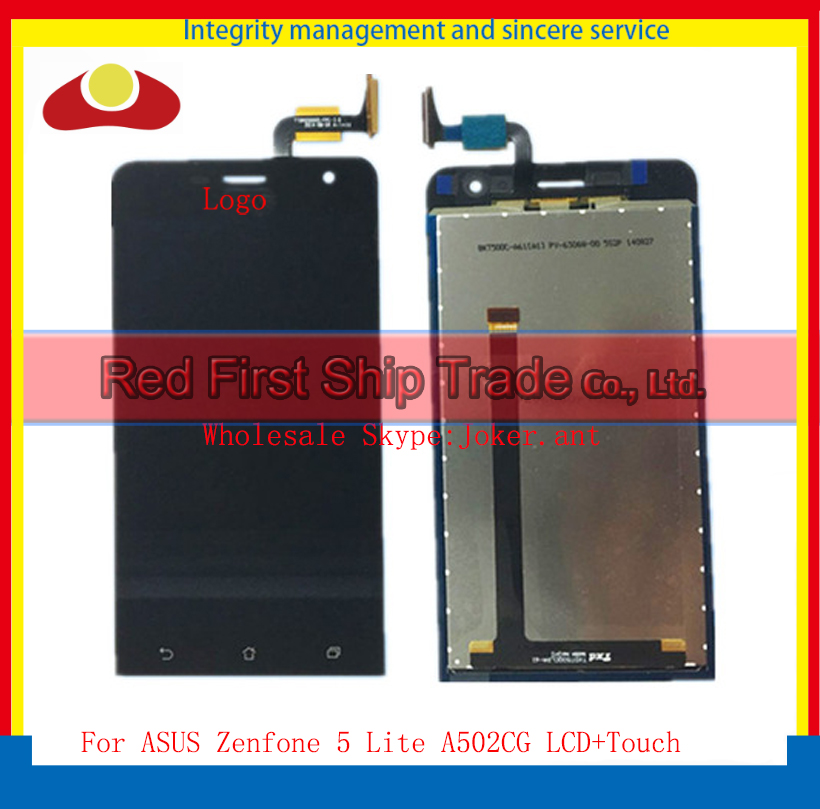 20Pcs/lot DHL EMS High Quality 5.0 For ASUS Zenfone 5 Lite A502CG Full Lcd Display Touch Screen Digitizer Assembly Complete 50pcs dhl high quality 5 0 full lcd