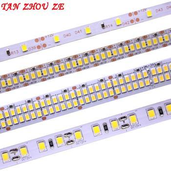 Taśma LED 2835 SMD 240 leds/m 5 m 300/600/1200 LEDs DC12V High Bright elastyczna taśma wstążkowa LED lina jasny ciepły biały/zimny biały