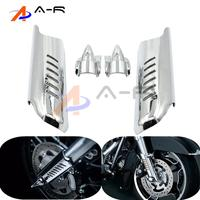 Motorcycle Lower Fork Leg Cover Guard Deflector Shield For Harley Touring Electra Glide Ultra Limited Road