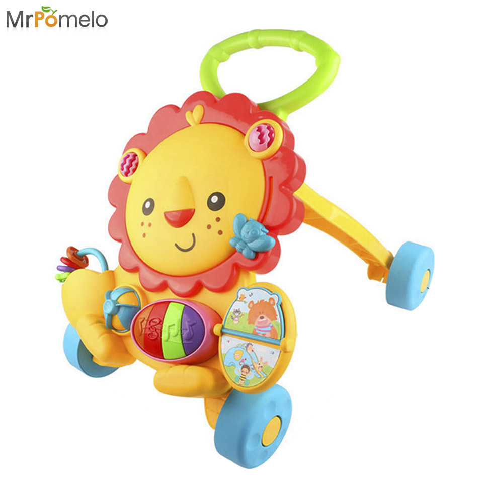 Toys For Active Toddlers : Aliexpress buy mrpomleo music baby walker with