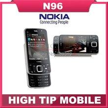 100% разблокирована оригинальный Бренд Nokia N96 телефон GSM 3 Г 16 ГБ встроенной памяти, WIFI, GPS, 5-МП, 1 год гарантия Восстановленное Бесплатная доставка