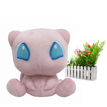14 cm Anime Mew Stuffed Plush Cartoon Peluche Dolls Christmas Gift Baby Toys For Children