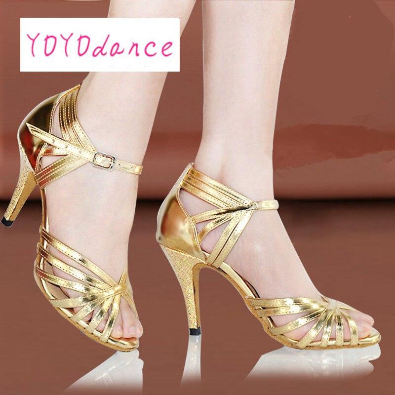 Женские Костюмы для латиноамериканских танцев танцевальная обувь женские на высоком каблуке мягкая подошва взрослых бальные танцы обувь С... ...