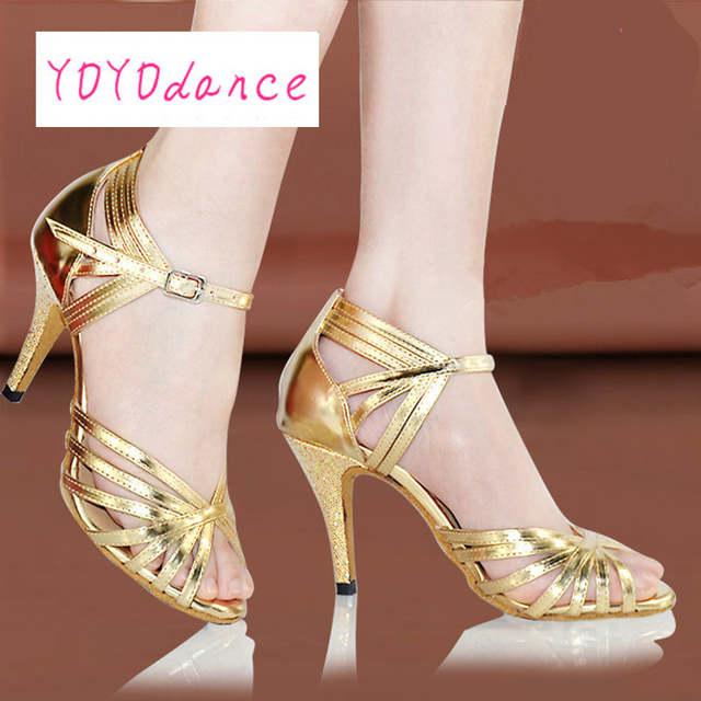 a3c3cf6674 placeholder Sapatos de Dança Latina das mulheres do Sexo Feminino de  Alta-salto alto Adultos Sola