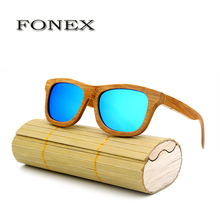 2017 New Brand fashion Products Men Women Sunglass Bamboo Sun Glasses Vintage Wood HD Polaroid Lens Wooden Frame Handmade