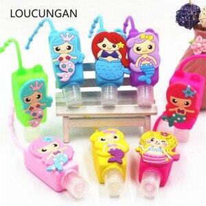 Image 1 - Flamingo Mermaid Party Hand Sanitizer Bottle Set Baby Shower Unicorn Birthday Party Decorations Kids Adult Jungle Party Favors
