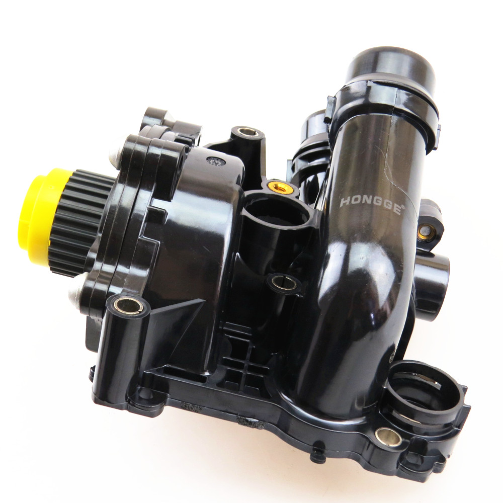HONGGE 1.8T 2.0T Engine Cooling Water Pump For VW Golf Jetta GLI GTI MK6 Passat B7 Tiguan CC A4 A5 A6 A8 Q5 TT EA888 06H 121 026 engine water pump for audi a3 a4 a5 a6 a7 q3 q5 q7 tt vw golf gti mk7 passat polo tiguan beetle for 1 8t 2 0turbo 06l 121 012 a