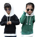 Nuevo 2017 niños clothing sport boys girls sudaderas ropa sudaderas con capucha de color sólido hoodies de los bebés outwear