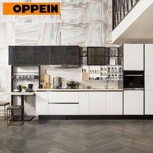 OPPEIN Китай Завод УФ лак-гель дверной ламинат установлены кухонные шкафы(PLCC17017