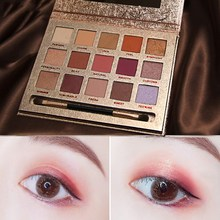15 Colors New Matte EyeShadow palette Glitter eye shadow MakeUp set Fashion eyeshadow
