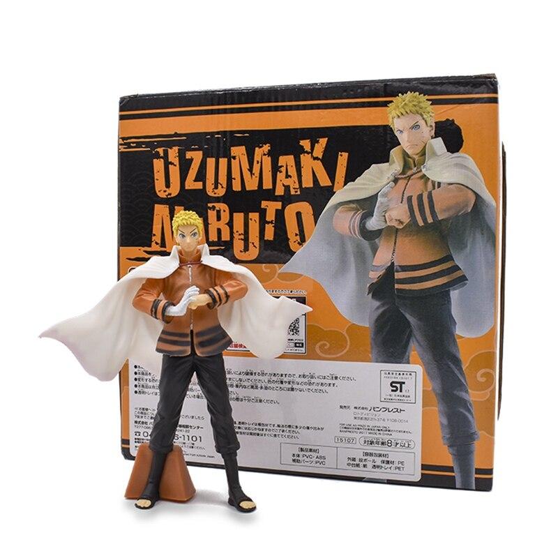 Naruto Anime Figma 17cm Uzumaki PVC Action Figure Model Toys For Children Gift Free Shipping