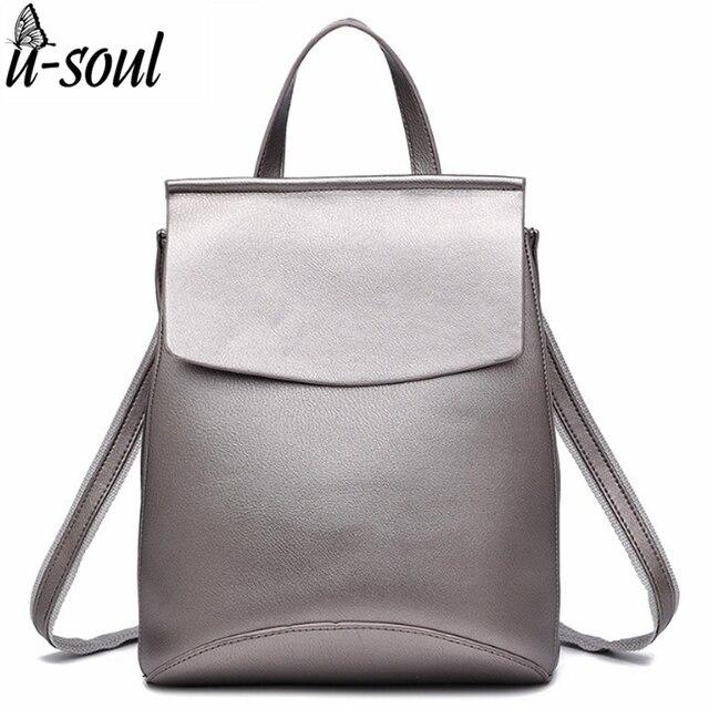 c55952740 Backpack Women Good Quality PU Leather Women Backpack 2017 Casual Student School  Backpacks Fashion Travel Backpacks