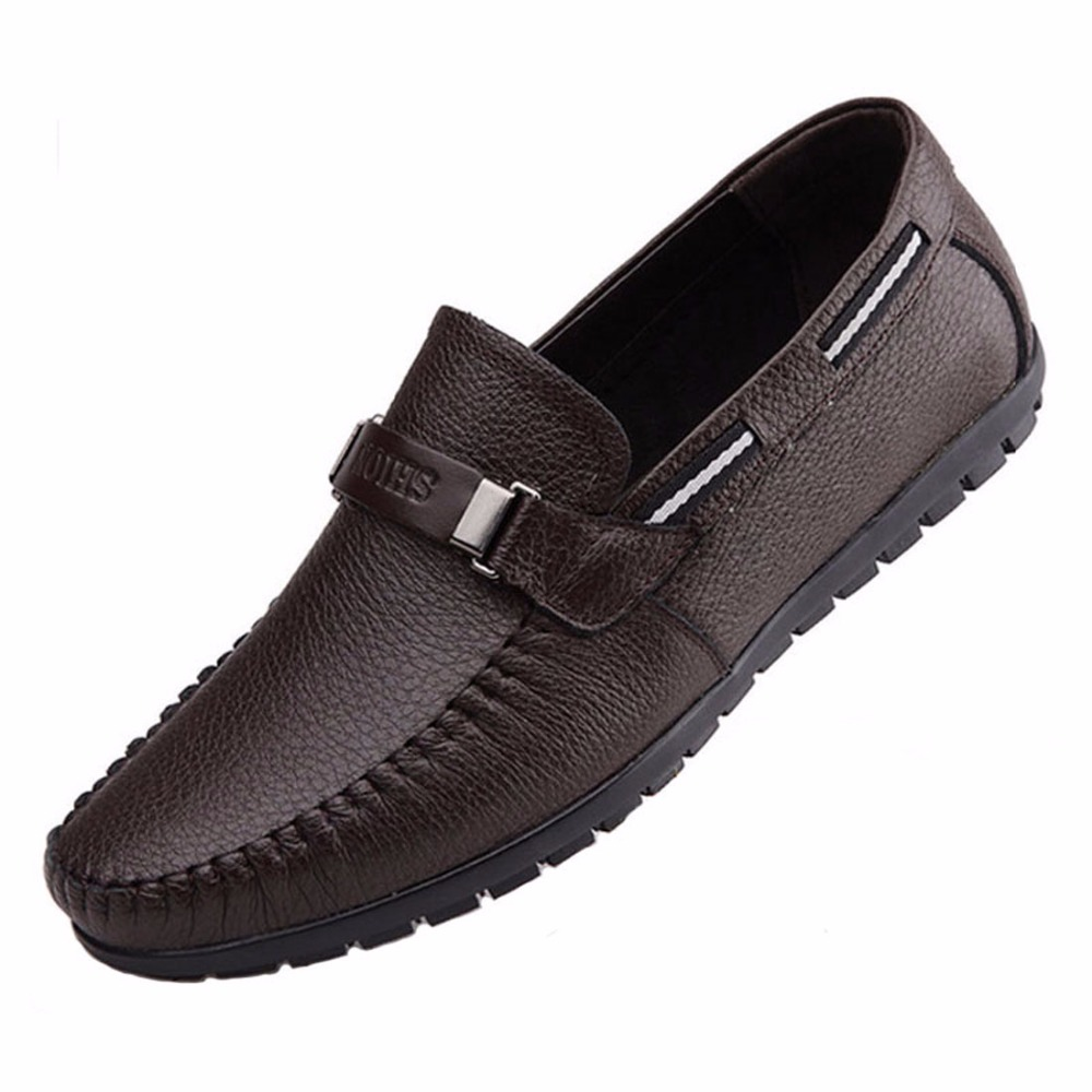 2017 cow leather men flats for driving men boat shoes fashion men moccasins chaussure homme soft. Black Bedroom Furniture Sets. Home Design Ideas