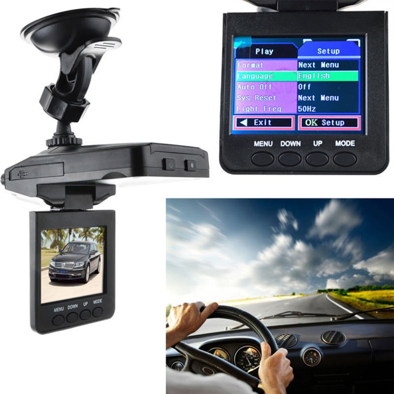 2.5 Inch TFT Car DVR with 6 LED Lights Auto Car Camera Video Recorder Dash Cam Motion Detection Night Vision G-Sensor 8