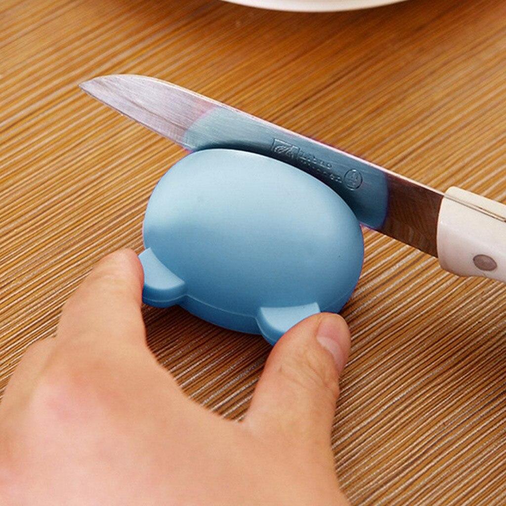 kitchen accessories 2019 Multifunction Cartoon Mini Sharpener Kitchen Tools Grindstone Kitchen Gadgets(China)