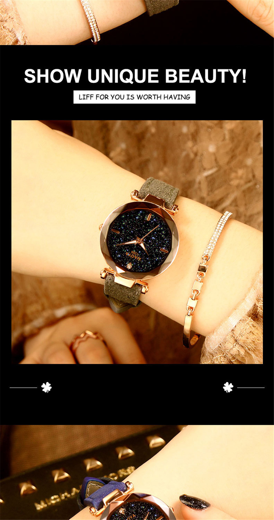 2018 Starry Sky Watch Women Minimalist Top Brand Luxury Wrist Watch For Ladies Female Clock Damski Montre Femme (13)