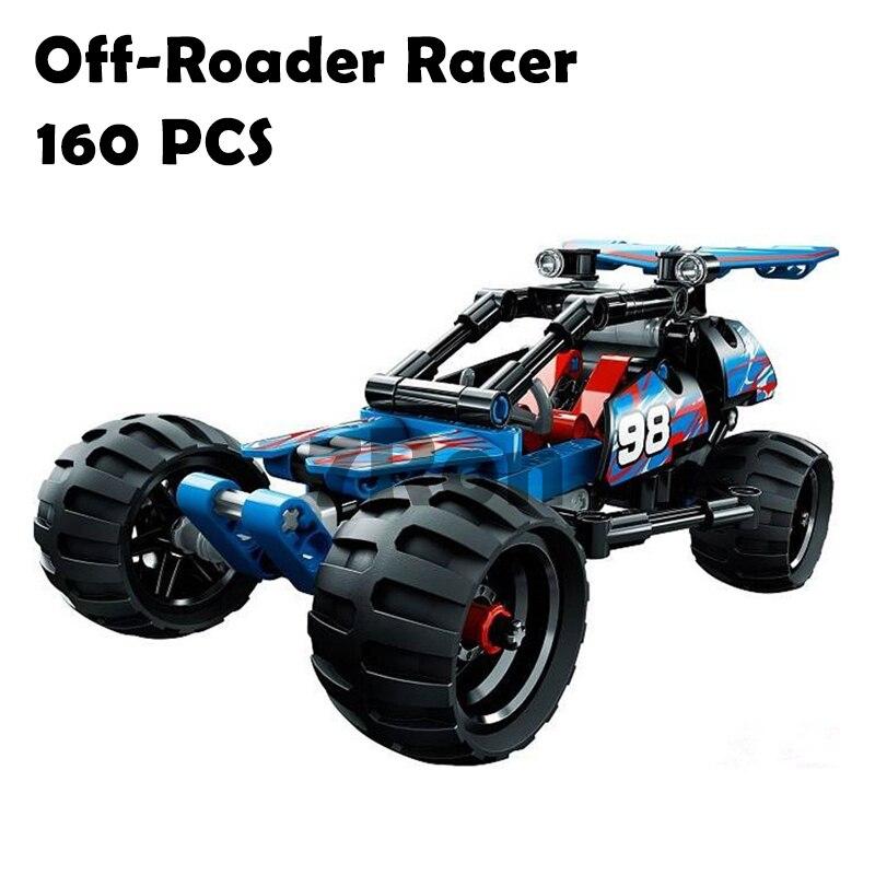 Models & building toys hobbies Compatible With lego Technic 3411 Warrior Off-Roader Racer Car Blocks 3D Educational DIY Bricks