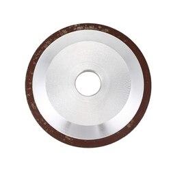 Nowy 100mm ściernica diamentowa puchar 180 Grit frez szlifierka do węglika metalu w Koła ścierne od Narzędzia na