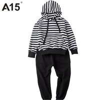 A15 Toddler Girl Clothing 2017 Baby Boy Clothes Set 2 Piece Outfit Children Tracksuit Kids Boy