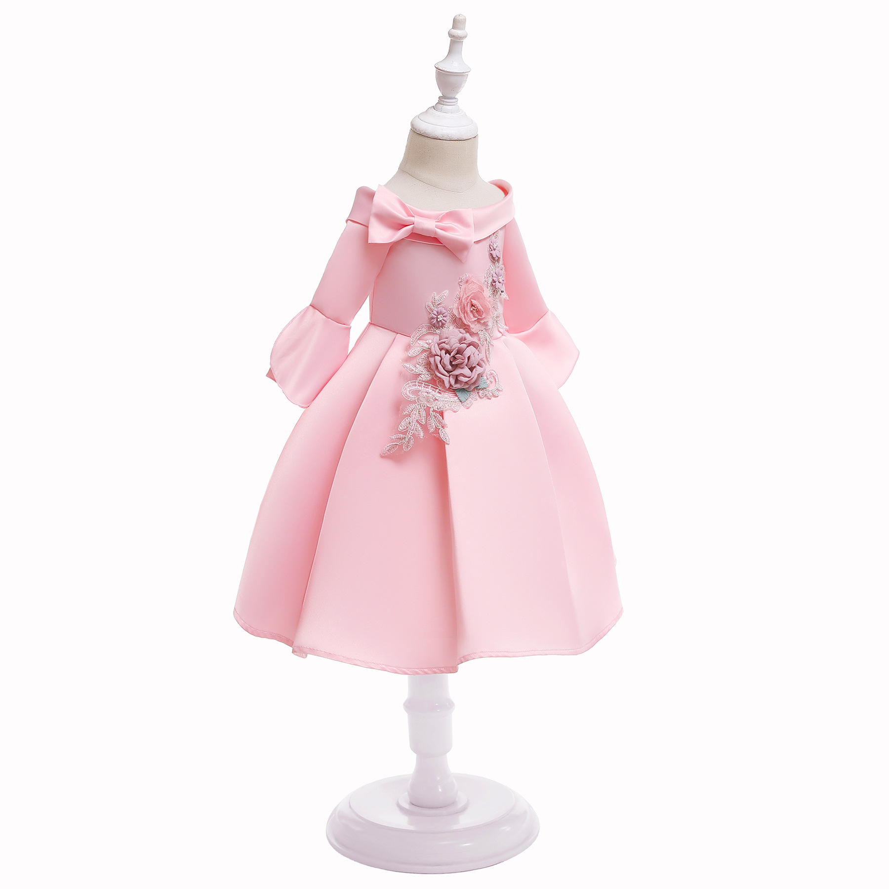 2019 Summer Kids Dress for Girls Toddler Girls Princess Dress for Party Wedding Ball Gown Children Girls Costume Clothing in Dresses from Mother Kids