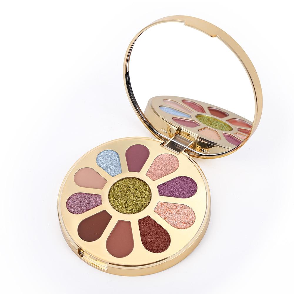 Beauty 11 Color Matte Eyeshadow Palette - Svogo
