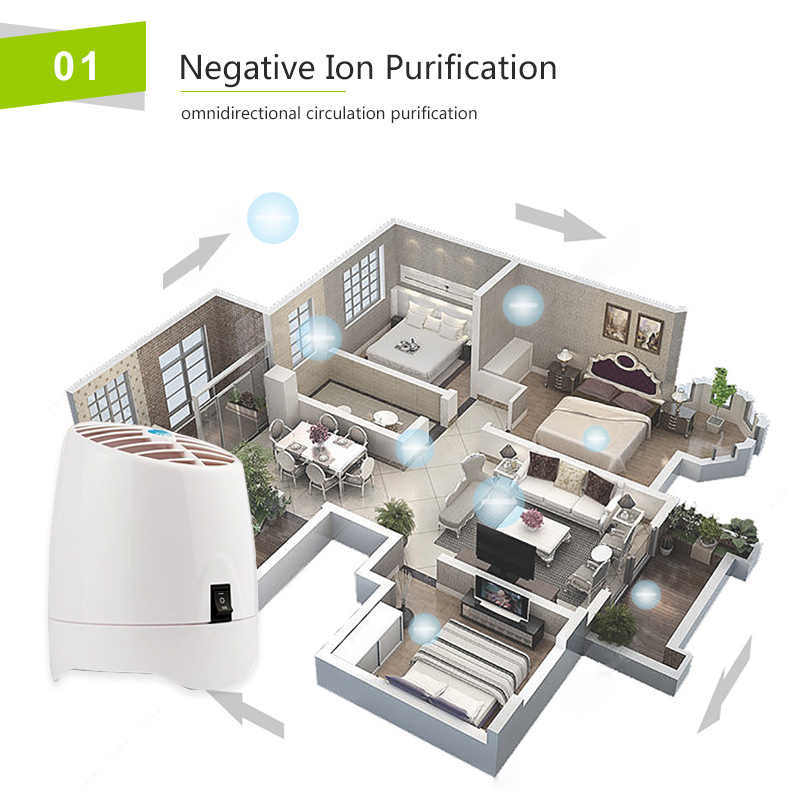 TINTON LIFE Air Purifiers Home and Office Air Purifier with Aroma Diffuser  Ozone Generator and Ionizer 220V Air Purifiers