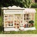 Cutroom 1:32 Сладкие Ягоды Время DIY Миниатюрные Кукольные Домики С Music box + голосовой свет собраны Модель Ручной Работы Комплект подарок