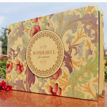 New Quality 10 Inch Handmade Diy Photo Album 30 Pages Paper Photo Albums Scrapbook for Baby Familiy Wedding Memory 3 Styles