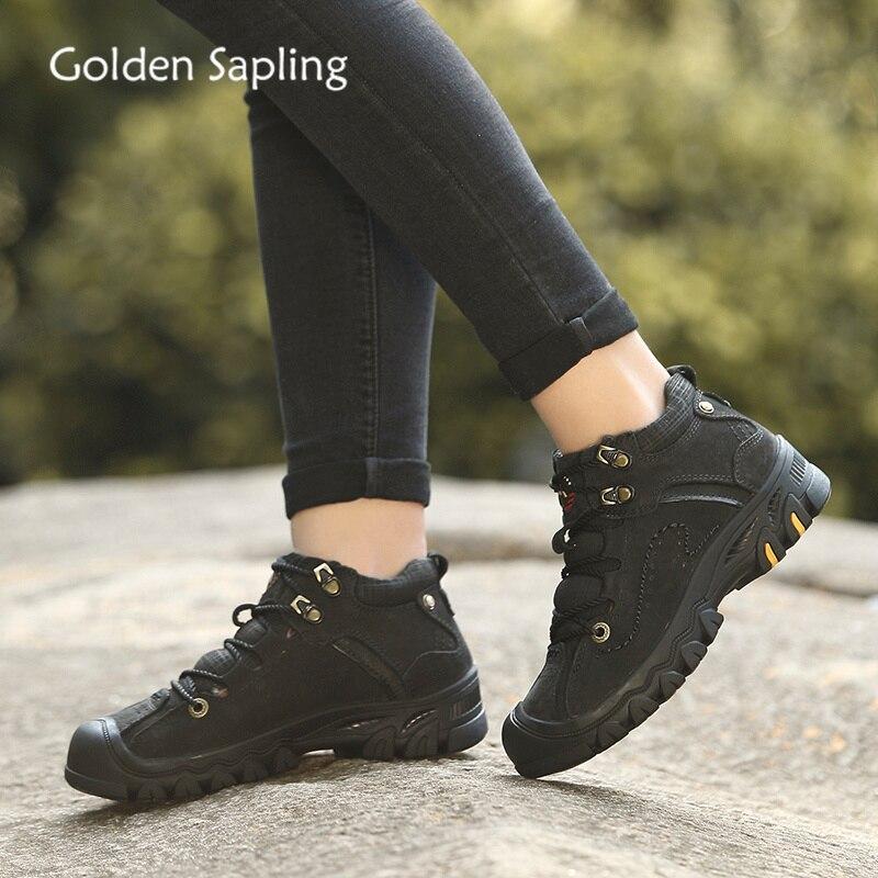 Golden Sapling Woman Mountain Boots