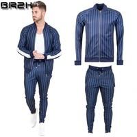 Men's Sportswear Men Track Suit Men Sportsman Sweatshirt And Joggers Set Pants Chandal Hombre Pullover Hoodie Trouser M 5XL