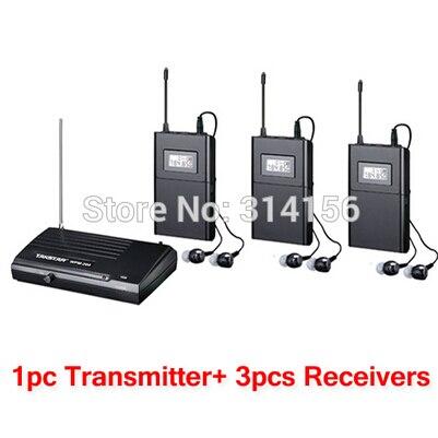 bilder für Takstar wpm-200/WPM200 Wireless Monitor System Für aufnahmestudio überwachung/auf der bühne überwachung 1 Sender + Empfänger 3