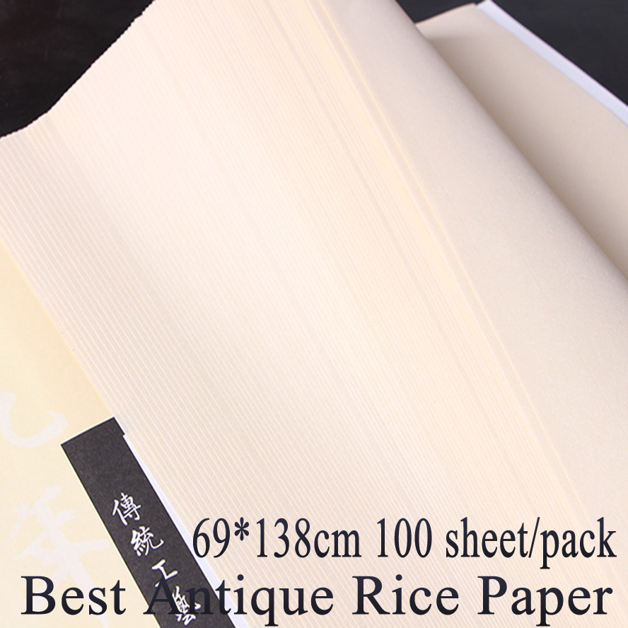 69*138cm best antique Chinese traditional Rice paper for painting calligraphy xuan paper raw xuan Sized rice paper art supplies туфли xuan where 5517 2015