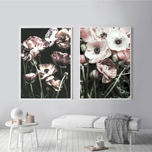 Small Daisy Flowers Wall Art Canvas Paintings Modern Abstract Minimalist Print Pictures For Living Room Home Decor Unframed