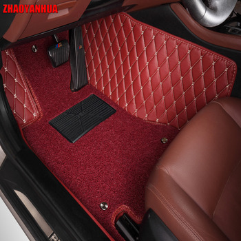 """""""ZHAOYANHUA Car floor mats for Toyota Sienna XL30 XL20 7/8 seats MPV 5D heavy duty car-styling carpet floor liners(2004-now) """""""